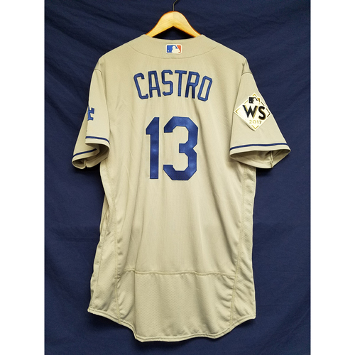 Photo of Juan Castro 2017 Road World Series Team-Issued Jersey