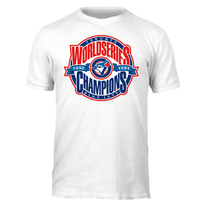 Toronto Blue Jays Back 2 Back World Series Champions T-Shirt by Bulletin