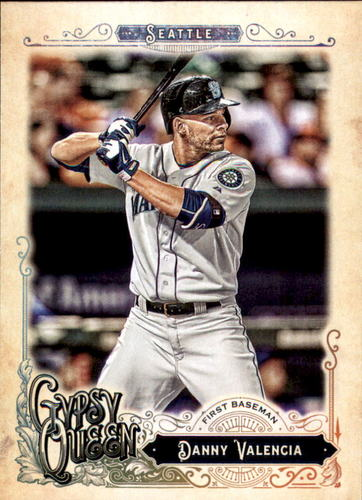 Photo of 2017 Topps Gypsy Queen #15 Danny Valencia