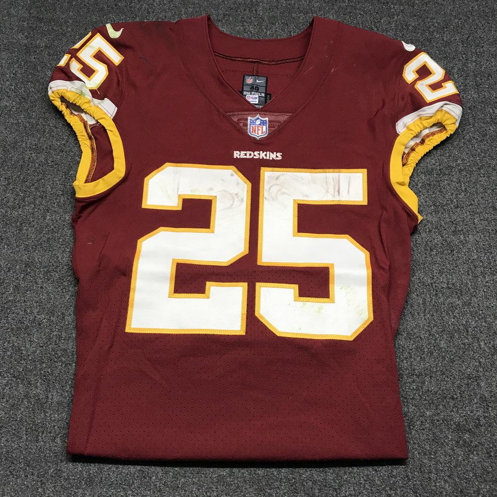 super popular c1d12 96036 NFL Auction | STS - Redskins Chris Thompson game worn ...