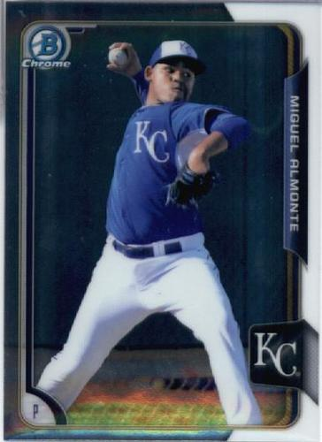 Photo of 2015 Bowman Chrome Prospects #BCP226 Miguel Almonte