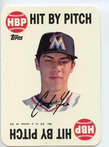 Photo of 2015 Topps Archives '68 Topps Game Inserts #24 Christian Yelich