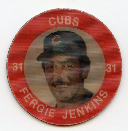 Photo of 1984 Seven-Eleven Coins #C20 Fergie Jenkins