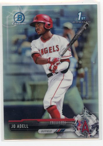 Photo of 2017 Bowman Chrome Draft Refractors #BDC95 Jo Adell