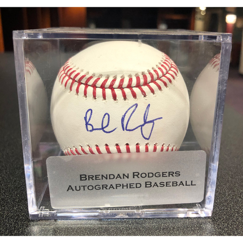 Photo of Colorado Rockies Autographed Baseball: Brendan Rodgers