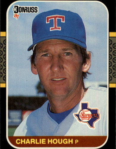 Photo of 1987 Donruss #470 Charlie Hough