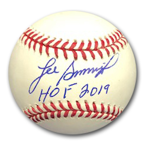 Photo of Lee Smith Autographed Baseball