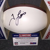 NFL - Colts Tyquan Lewis signed panel ball