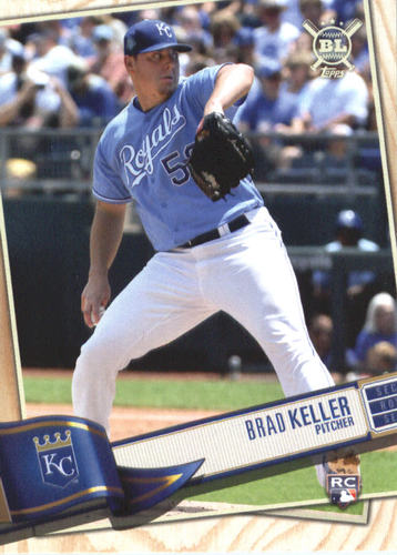 Photo of 2019 Topps Big League #1 Brad Keller RC