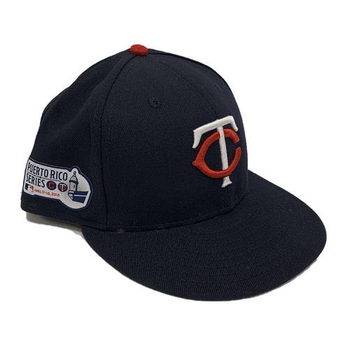 Photo of Minnesota Twins 2018 Team-Issued Puerto Rico Series Cap - Choose Your Number, Color and Size!
