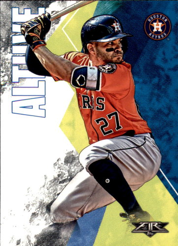 Photo of 2019 Topps Fire #80 Jose Altuve