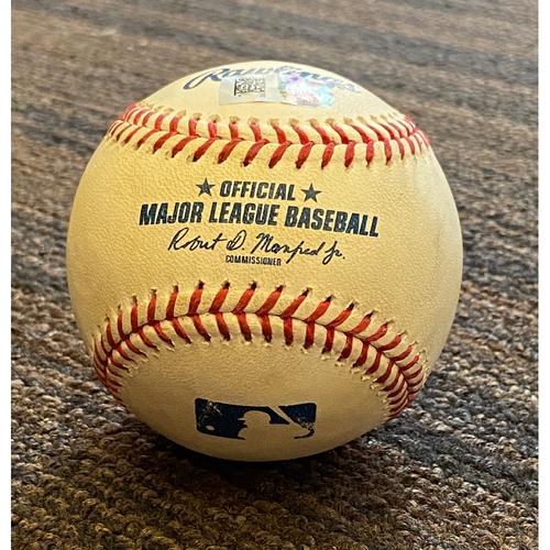 Photo of Game-Used  Baseball - Washington Nationals at Baltimore Orioles (8/15/2020)