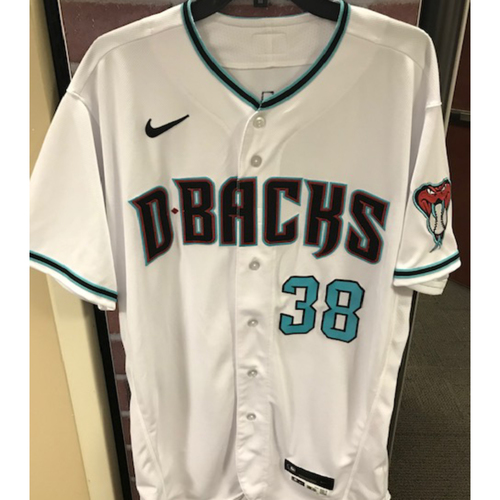 Photo of Robbie Ray 2020 Team-Issued Home Alternate Jersey (Size 46T)