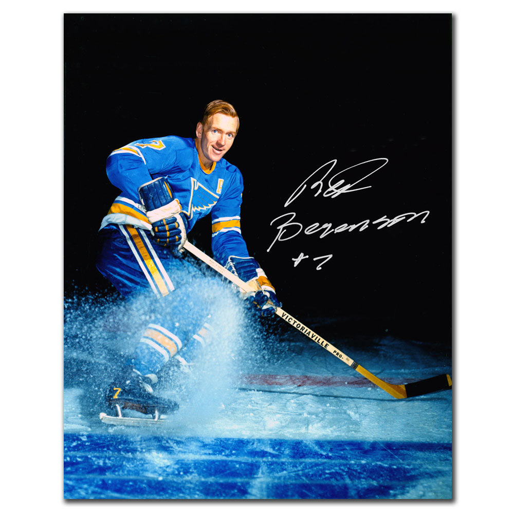 Red Berenson St. Louis Blues Autographed 8x10