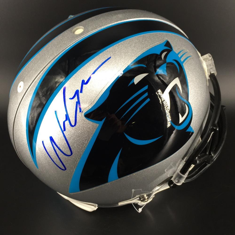 NFL - Panthers Will Grier Signed Proline Helmet
