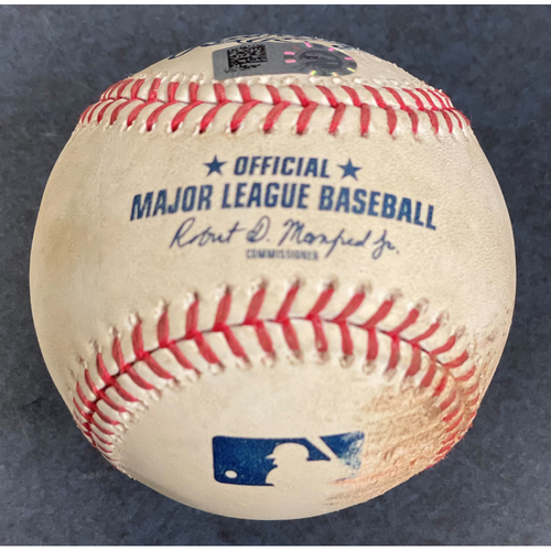 Photo of 2021 Detroit Tigers Game-Used Baseball - Choose Your Game Date!