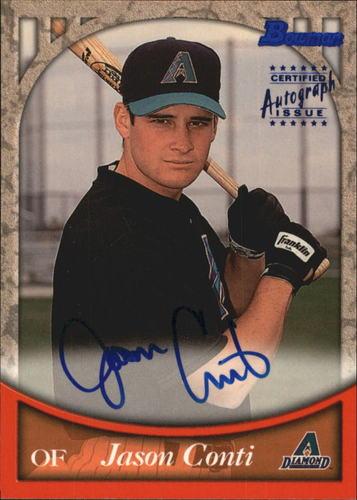 Photo of 1999 Bowman Autographs #BA19 Jason Conti B