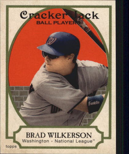 Photo of 2005 Topps Cracker Jack Mini Stickers #153 Brad Wilkerson