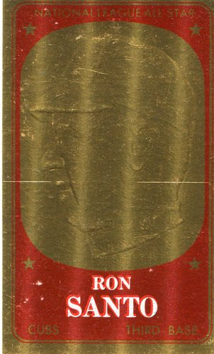 Photo of 1965 Topps Embossed #28 Ron Santo