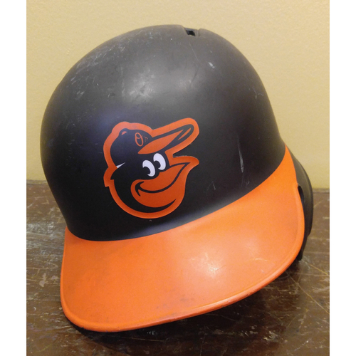 Mark Trumbo - Batting Helmet: Team-Issued
