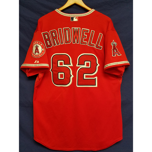 Photo of Parker Bridwell Alternate Red Team-Issued Jersey