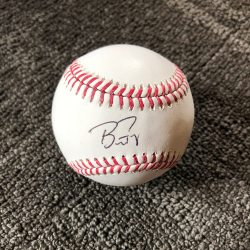 Photo of San Francisco Giants - Autographed Baseball - Buster Posey