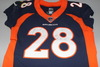 Crucial Catch - Broncos Jamaal Charles game worn Broncos jersey (October 15, 2017)