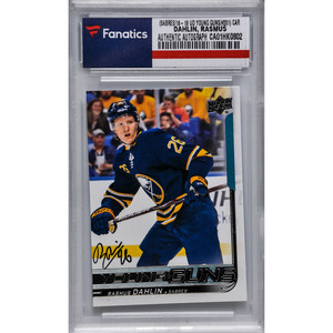 32f23a8064f Rasmus Dahlin Buffalo Sabres Autographed 2018-19 Upper Deck Series One  Hockey Young Guns Rookie  201 CardRasmus Dahlin Buffalo Sabres Autographed  2018-19 ...