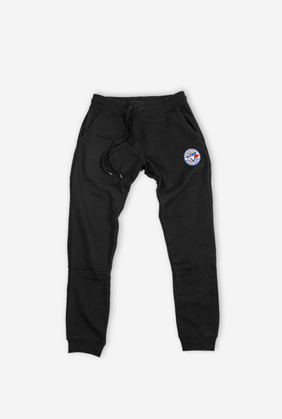 Toronto Blue Jays Warm Up Black Joggers by Peace Collective