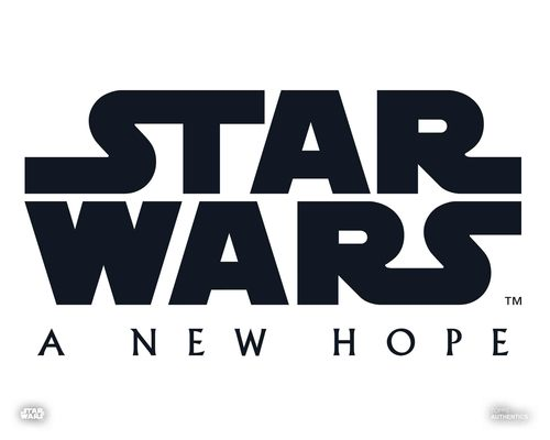Star Wars: A New Hope Logo
