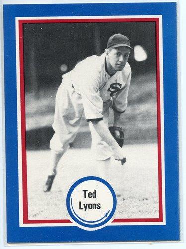 Photo of 1976 Shakey's Pizza #76 Ted Lyons