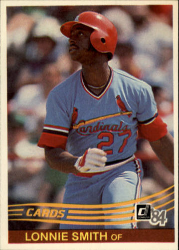 Photo of 1984 Donruss #231 Lonnie Smith