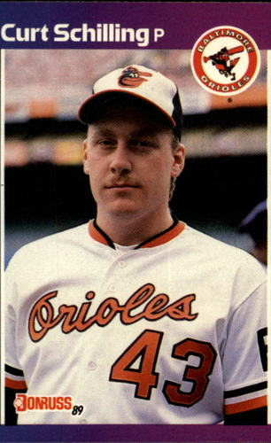 Photo of 1989 Donruss #635 Curt Schilling DP RC