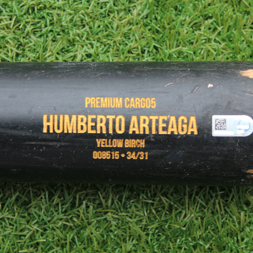 Game-Used Broken Bat: Bubba Starling Ground Out - Arteaga Model (KC @ BOS - 8/5/19)