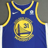 Georges Niang - Golden State Warriors - NBA China Games - Game-Worn Icon Edition Jersey - 2017-18 NBA Season
