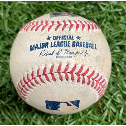 Photo of Game Used Baseball: Chris Archer Strikes Out Aaron Judge - April 10, 2021 v NYY