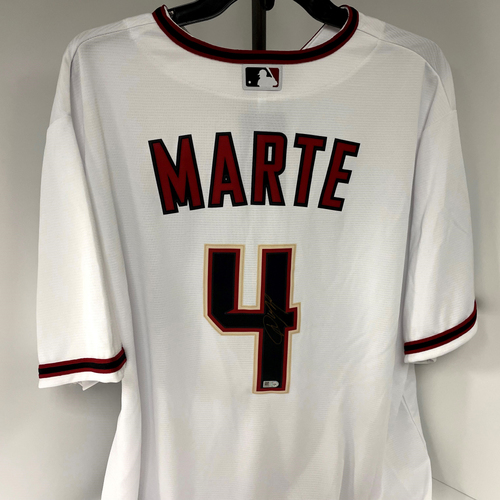 Photo of Ketel Marte Autographed Jersey