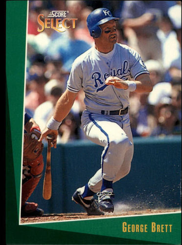 Photo of 1993 Select #78 George Brett