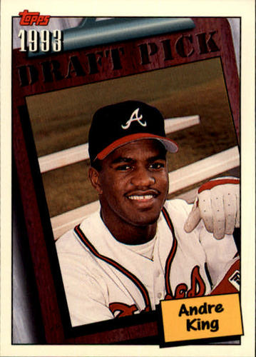 Photo of 1994 Topps #752 Andre King RC