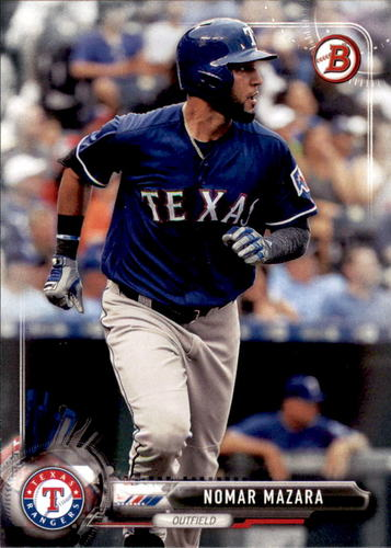 Photo of 2017 Bowman #30 Nomar Mazara