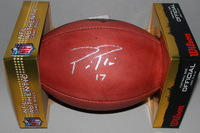 CHARGERS - PHILIP RIVERS SIGNED AUTHENTIC FOOTBALL