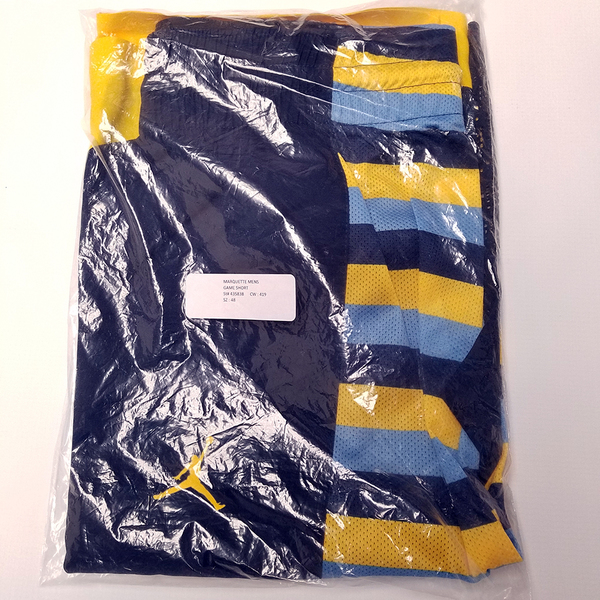 Photo of Marquette Blue Jordan Shorts (2015-16)