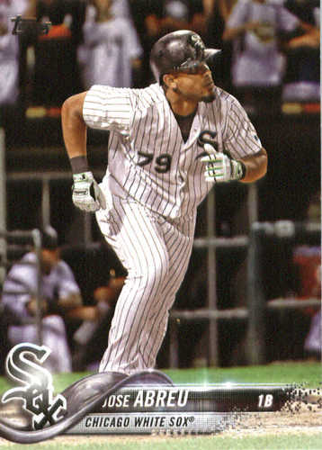 Photo of 2018 Topps #280 Jose Abreu