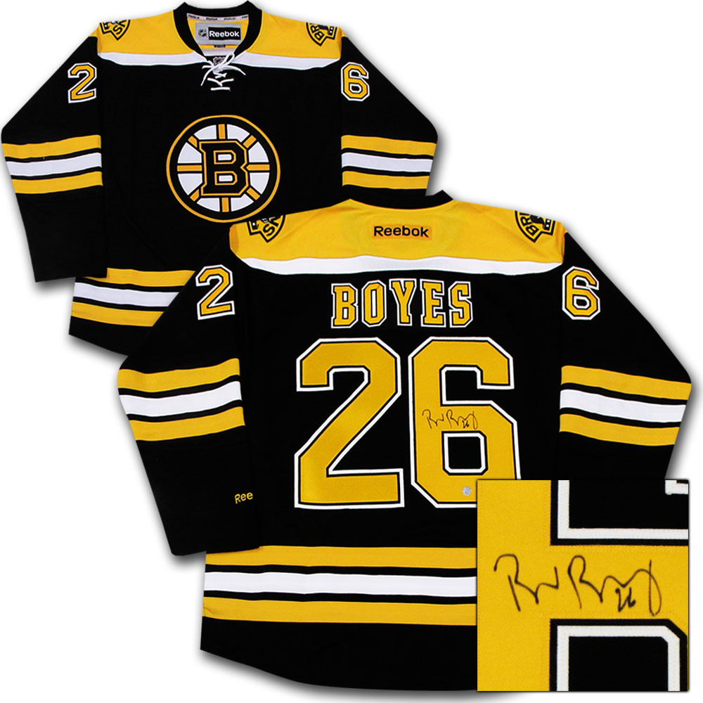 Brad Boyes Autographed Boston Bruins Jersey