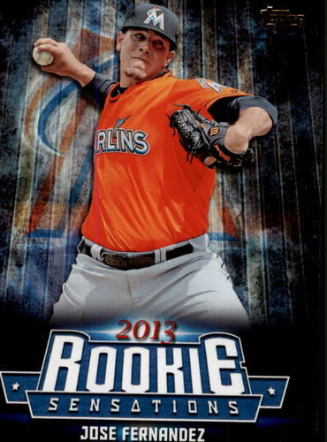 Photo of 2015 Topps Update Rookie Sensations #RS8 Jose Fernandez