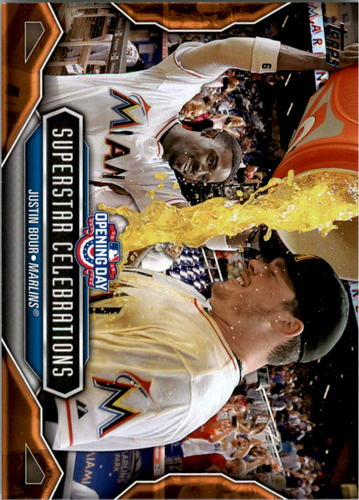 Photo of 2016 Topps Opening Day Superstar Celebrations #SC20 Justin Bour