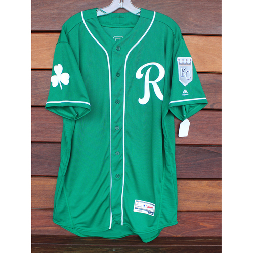 Photo of Team-Issued St. Patrick's Day Jersey: Franco Terrero (Size - 46)