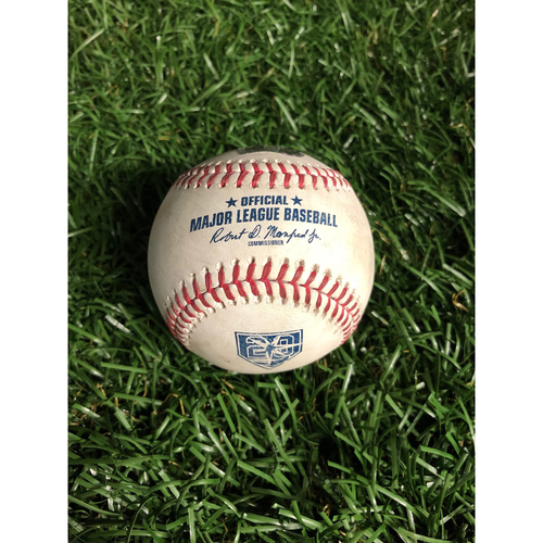 Photo of 20th Anniversary Game Used Autographed Baseball: Tyler Glasnow strikes out Josh Donaldson - September 11, 2018 v CLE