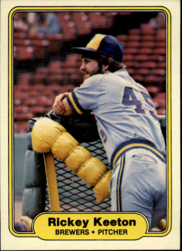 Photo of 1982 Fleer #146 Rickey Keeton