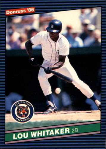 Photo of 1986 Donruss #49 Lou Whitaker